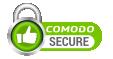 Secured with Comodo SSL